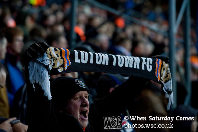 Luton fan scarf