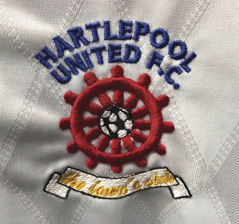 381 Badge Hartlepool